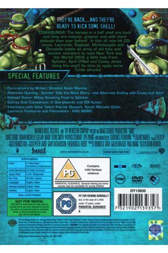 Teenage Mutant Ninja Turtles - The Movie - DVD