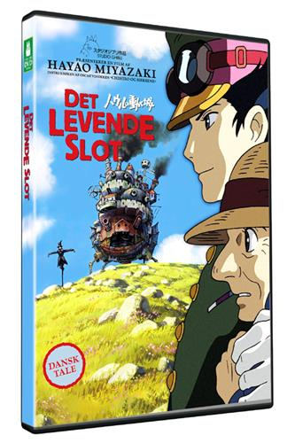 Det levende slot (DVD) dansk & japansk tale
