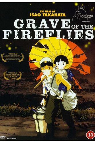 Grave of the Fireflies (DVD) japansk tale