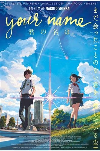 Your Name (DVD) Japansk tale