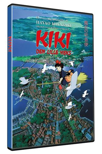 Kiki den lille heks (DVD) dansk & japansk tale