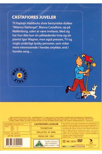 Tintin - Castafiores juveler DVD