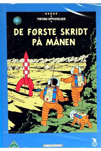 Tintin - De første skridt på månen DVD