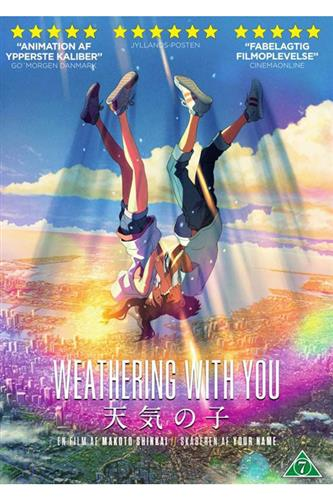 Weathering With You (DVD) japansk tale