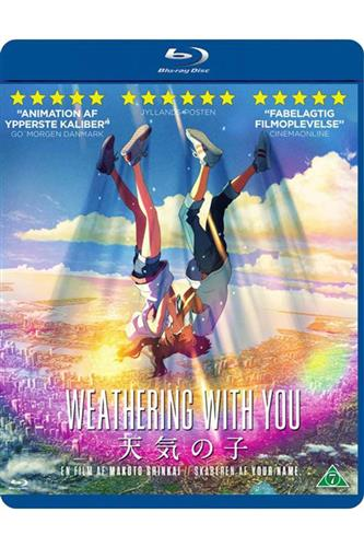 Weathering With You (Blu-Ray) japansk tale