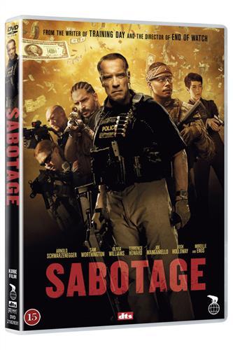 Sabotage - Arnold Schwarzenegger - DVD