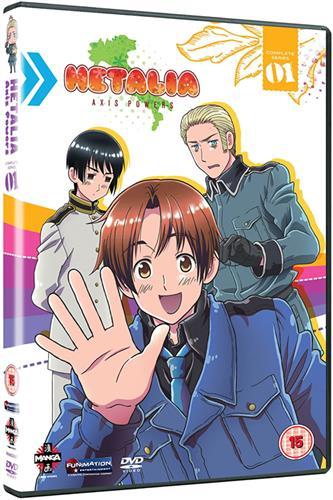 Hetalia Axis Powers - Season 1 (Ep. 1-25) DVD