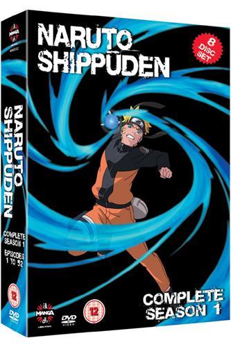 Naruto Shippuden - Complete Series 1 (Ep. 1-52) DVD