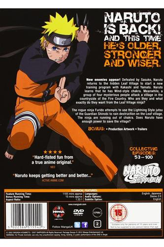 Naruto Shippuden - Complete Series 2 (Ep. 53-100) DVD