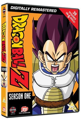 Dragon Ball Z - Season 1 (Ep. 1-39) DVD