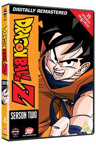 Dragon Ball Z - Season 2 (Ep. 40-74) DVD