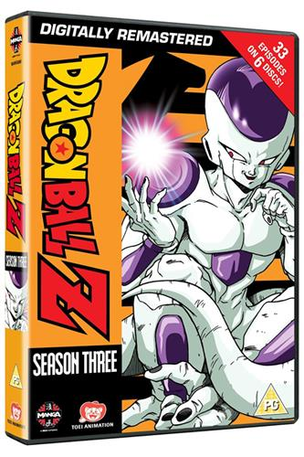 Dragon Ball Z - Season 3 (Ep. 75-107) DVD
