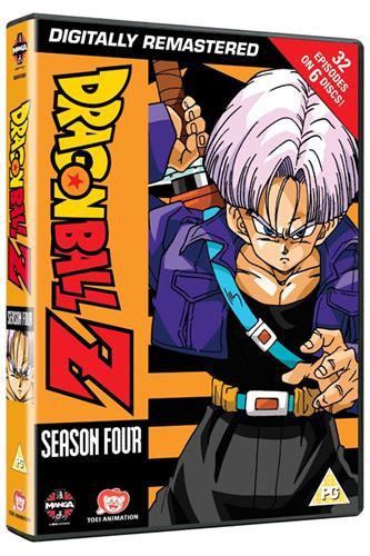 Dragon Ball Z - Season 4 (Ep. 108-139) DVD