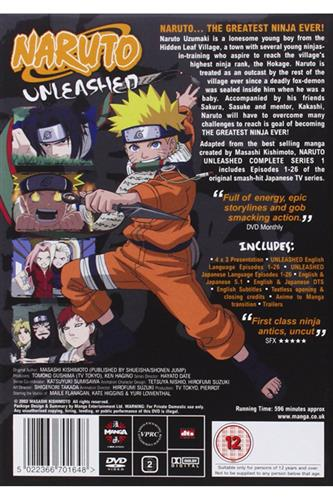 Naruto Unleashed - Complete Series 1 (Ep. 1-26) DVD