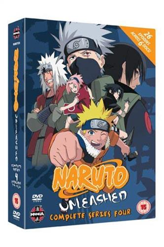 Naruto Unleashed - Complete Series 4 (Ep. 79-104) DVD