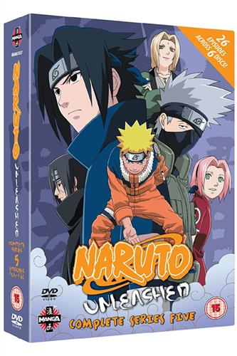 Naruto Unleashed - Complete Series 5 (Ep. 105-130) DVD