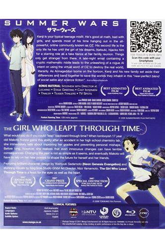 Summer Wars & Girl Who Leapt Through Time (Blu-Ray)