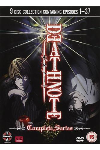 Death Note - Complete (Ep. 1-37) DVD