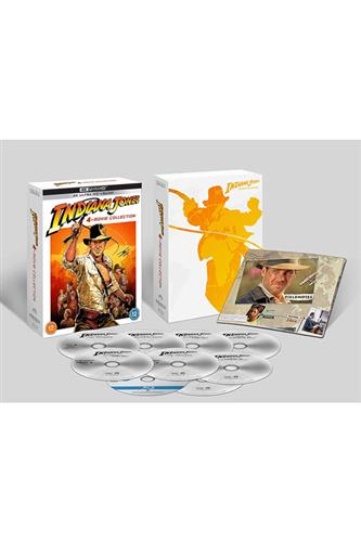 Indiana Jones Complete Collection 4K Ultra HD + Blu_Ray