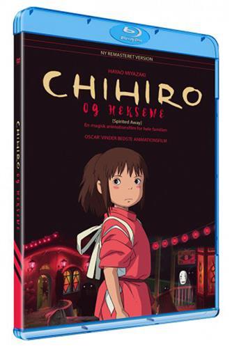 Chihiro & heksene (Blu-Ray) dansk & japansk tale