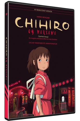 Chihiro & heksene (DVD) dansk & japansk tale