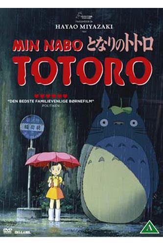 Min nabo Totoro (DVD) dansk & japansk tale