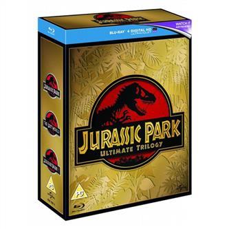 Jurassic Park (3 Film) Collection 1-3 Blu-Ray