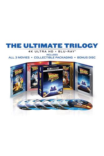 Back To The Future - The Ultimate Trilogy (4K Ultra HD + Blu-Ray) 1985
