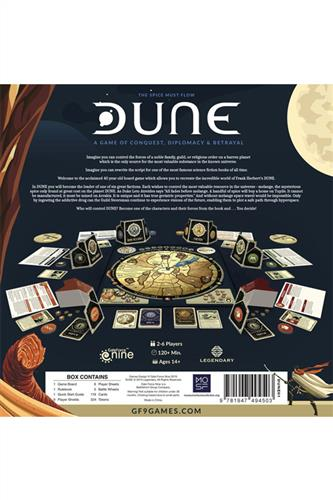 Dune - A Game of Conquest, Diplomacy & Betrayal