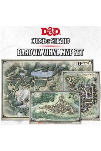 Curse of Strahd - Barovia Vinyl Map Set