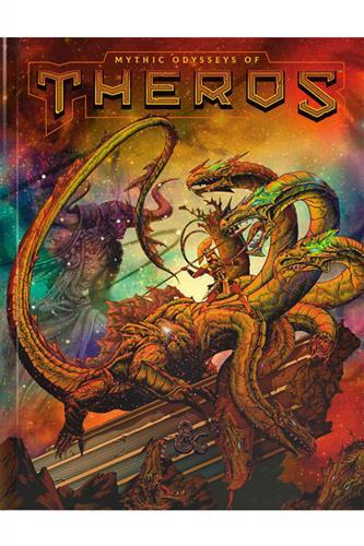 Mythic Odysseys of Theros - Alternate Art Cover