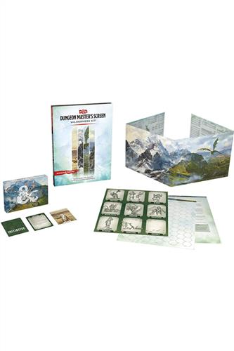 Dungeon Master's Screen - Wilderness Kit