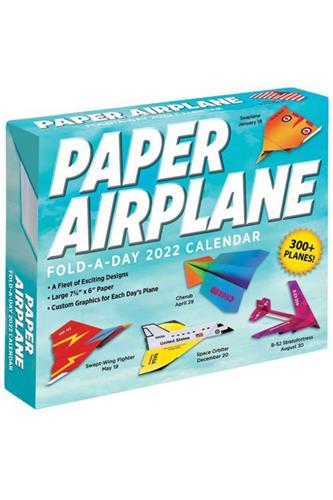 Paper Airplane 2022 Fold-A-Day Calendar