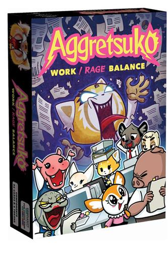 Aggretsuko - Work/Rage Balance