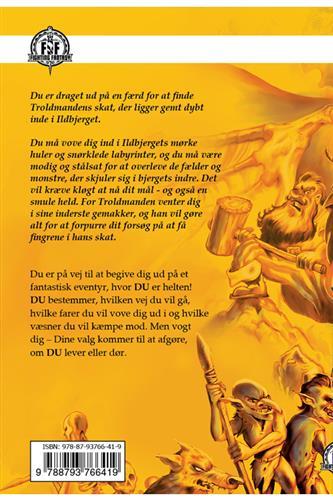 Sværd og Trolddom: Troldmanden fra Ildbjerget  (bind 1)