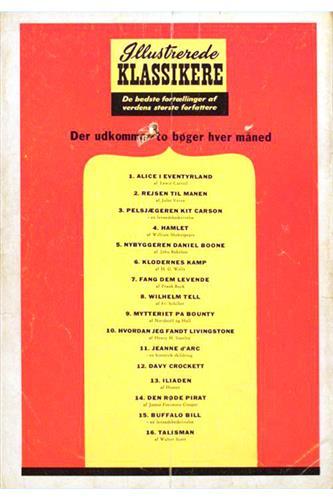 Illustrerede Klassikere 1955 Nr. 5
