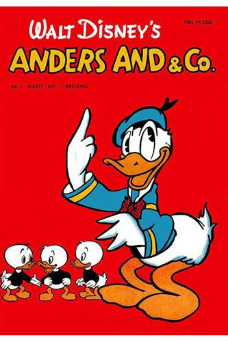 Anders And & Co. 1949 Nr. 1