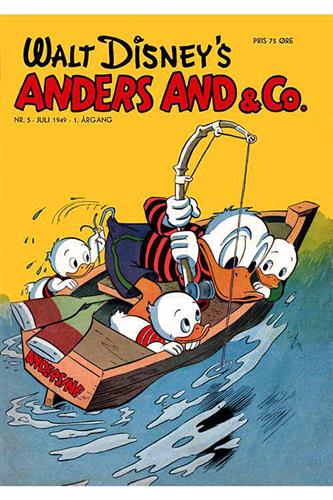 Anders And & Co. 1949 Nr. 5