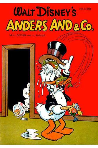 Anders And & Co. 1949 Nr. 8