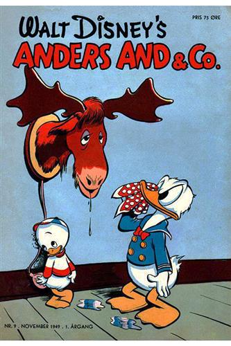 Anders And & Co. 1949 Nr. 9