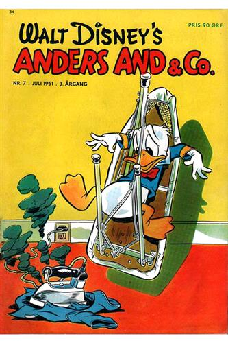 Anders And & Co. 1951 Nr. 7