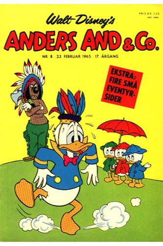 Anders And & Co. 1965 Nr. 8