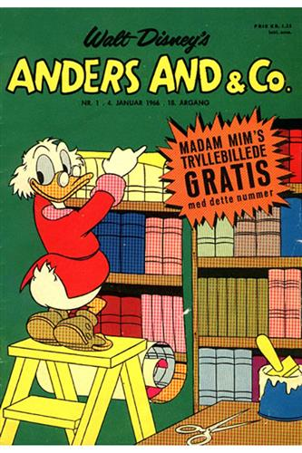 Anders And & Co. 1966 Nr. 1