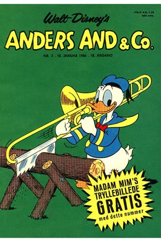 Anders And & Co. 1966 Nr. 3