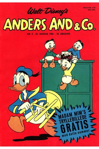 Anders And & Co. 1966 Nr. 4