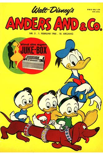 Anders And & Co. 1966 Nr. 5