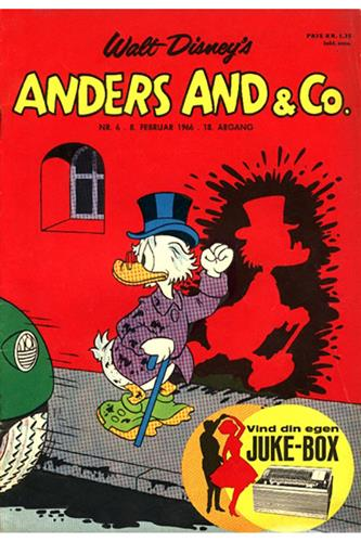Anders And & Co. 1966 Nr. 6