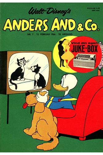 Anders And & Co. 1966 Nr. 7