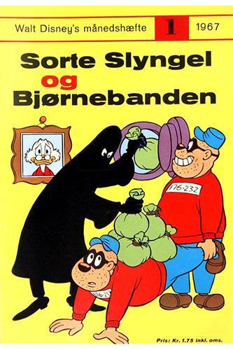 Walt Disneys Månedshæfte 1967 Nr. 1