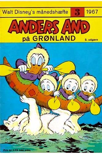 Walt Disneys Månedshæfte 1967 Nr. 3